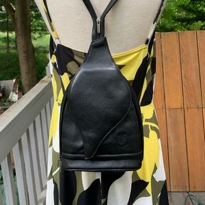 FIRENZE Italy Vintage Backpack Purse